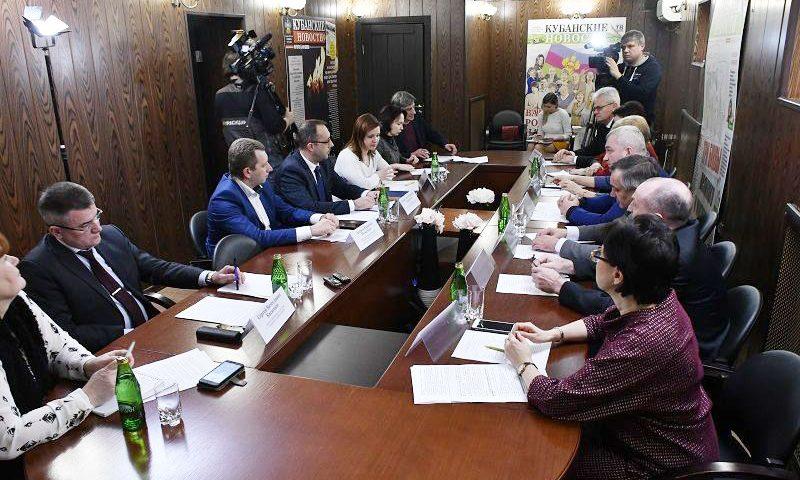 Круглый стол по развитию среднего профессионального образования на Кубани