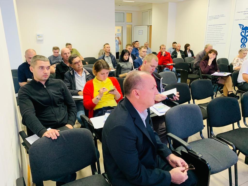 2019 год- участие ЧУ ОДПО «Учебный центр ПиК» в обучающем семинаре о безопасности дорожного движения в г. Сочи
