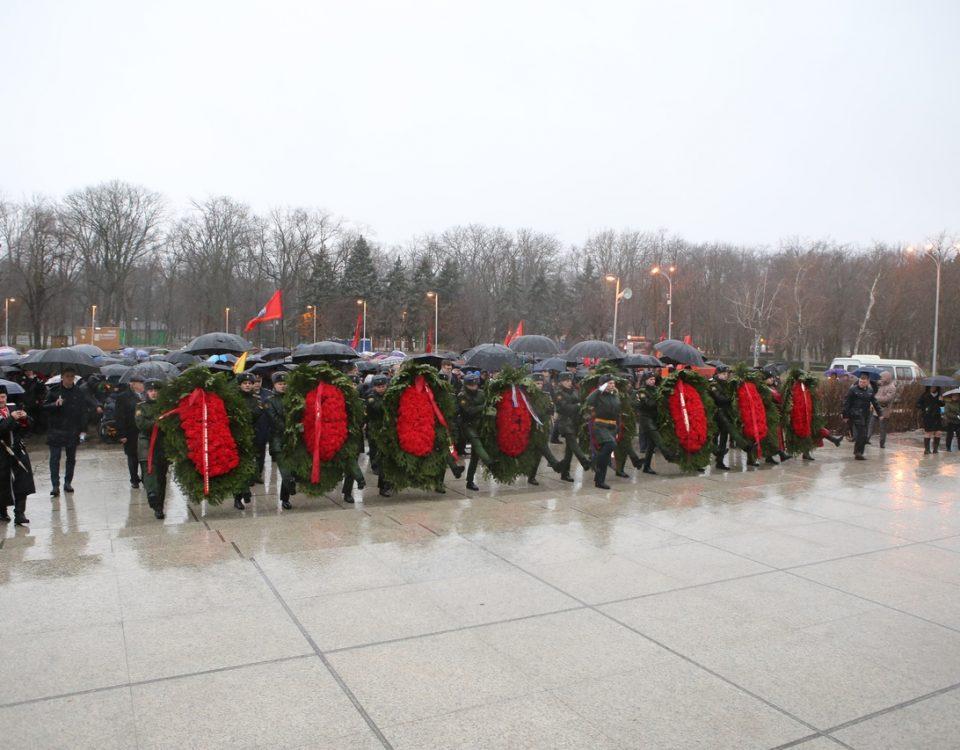 12 февраля – день памяти 77 годовщины освобождения Краснодара от немецко-фашистских захватчиков