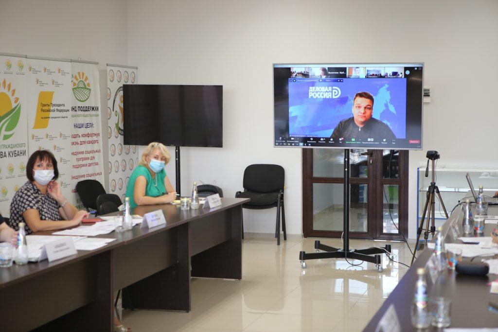 Круглый стол для НКО «Меры поддержки общественных организаций в условиях введения ограничительных мер в связи с распространением новой коронавирусной инфекции (COVID-19)»